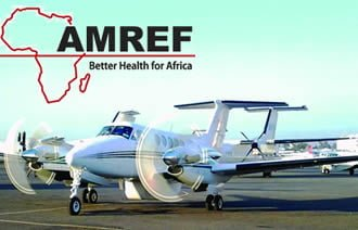 ÄMREF Air Ambulance cover