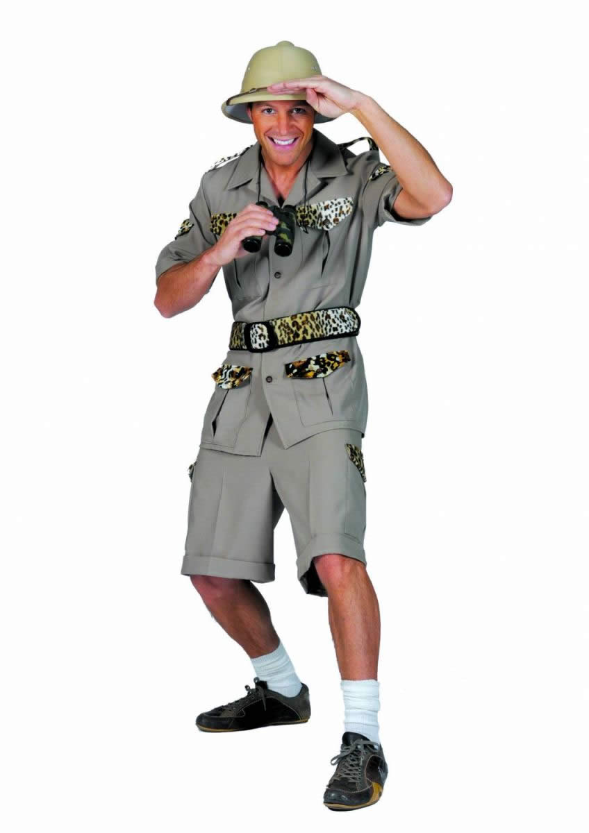 Tour guide costume