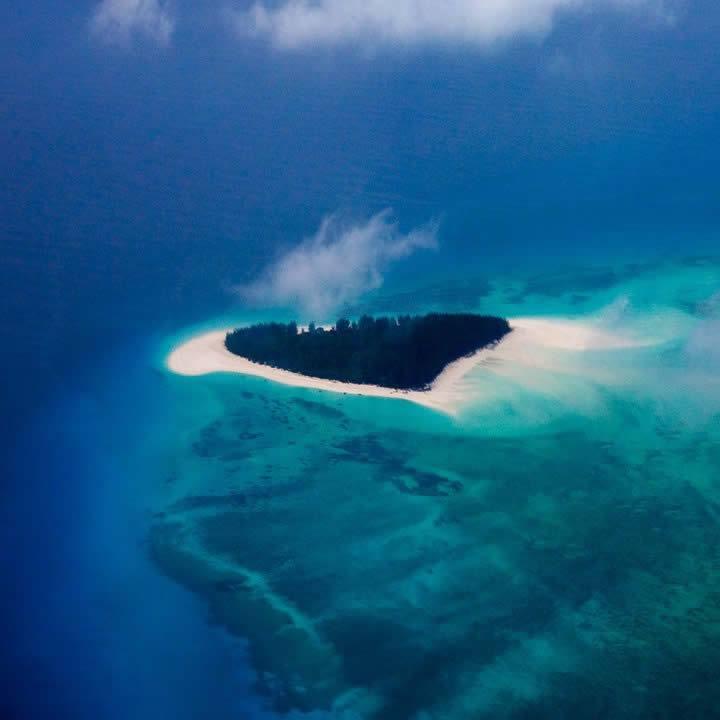 The Mnemba Atoll,Zanzibar.