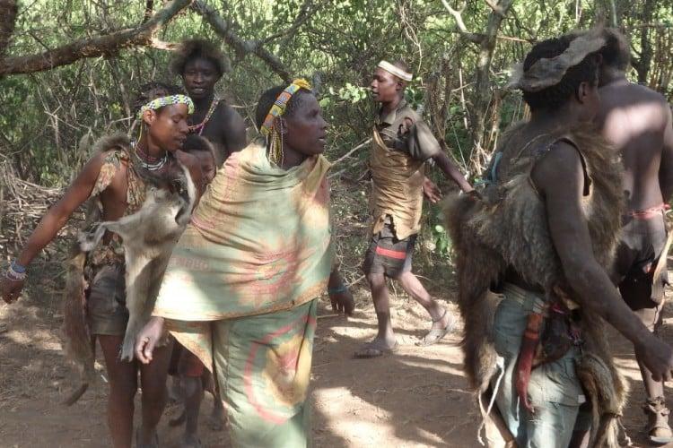 Bushmen-dance